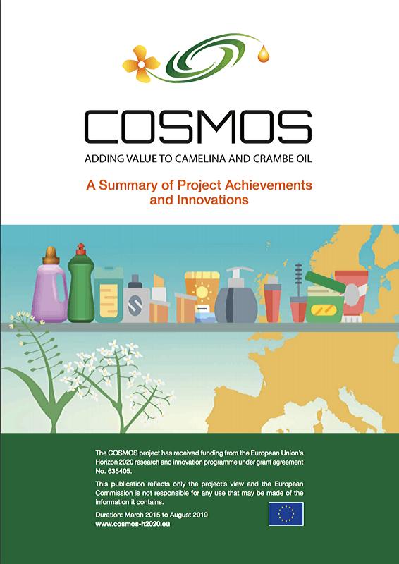 COSMOS Final brochure - Cover